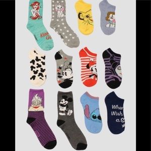 Disney Socks 12 Pairs 12 Days of Christmas Socks